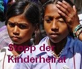 Stopp der Kinderheirat